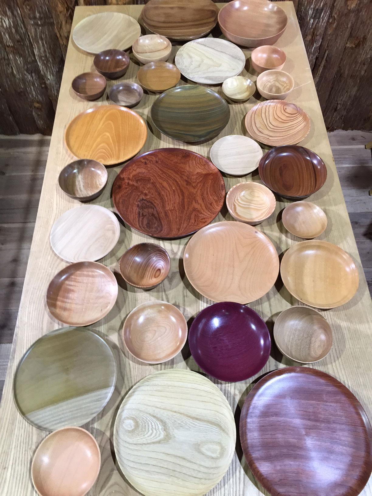 木材屋がつくる器
