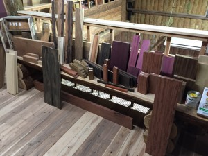 木材販売 端材コーナー