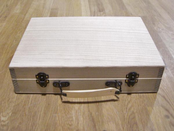 オーダー家具 木製カバン
