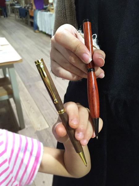 木製ペンできました