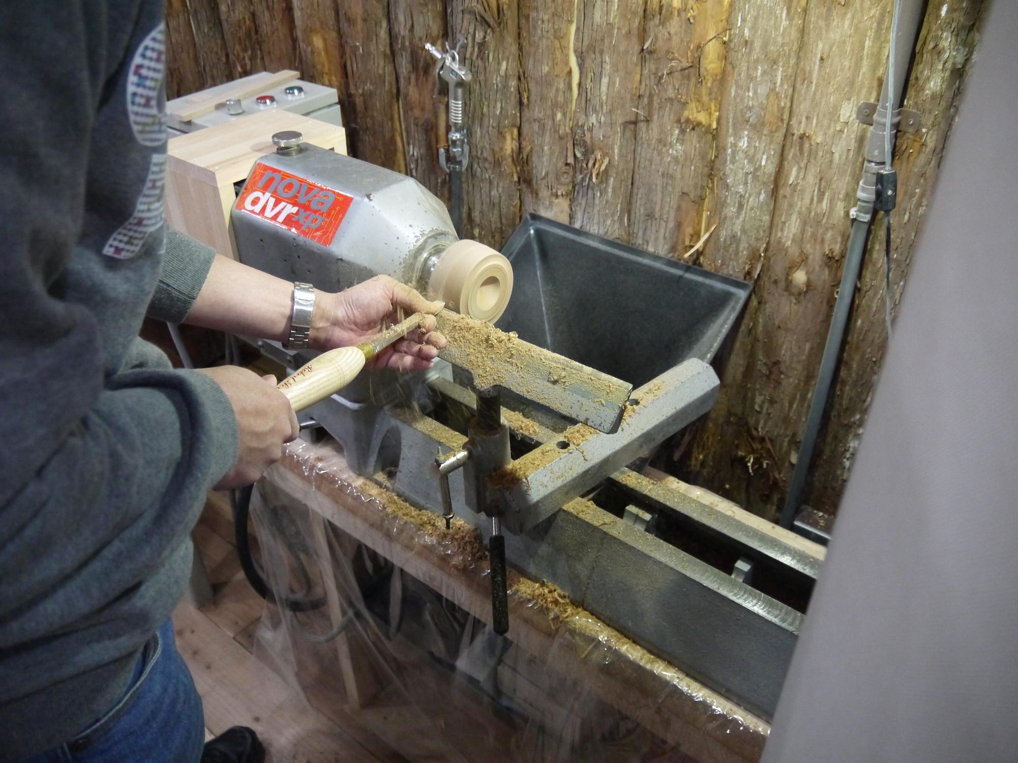 木工旋盤 皿