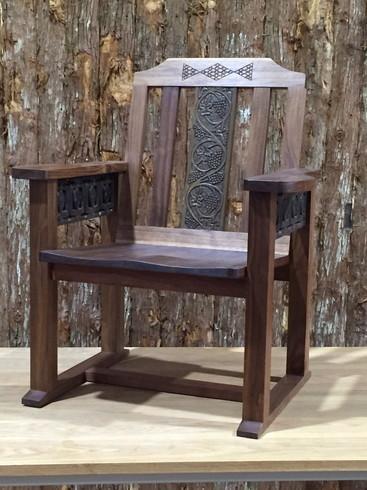 木彫 椅子
