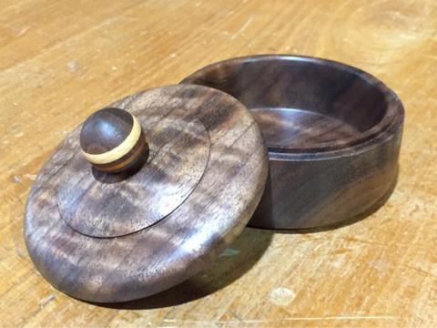 木工旋盤 ウォールナット