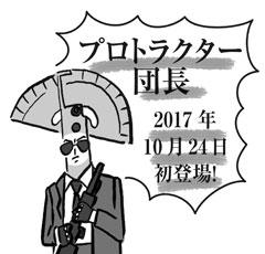 木工道具たち(29)プロトラクター団長