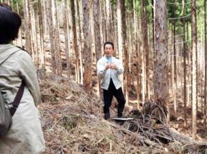 森を学ぶツアー