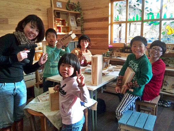 親子木工教室三重