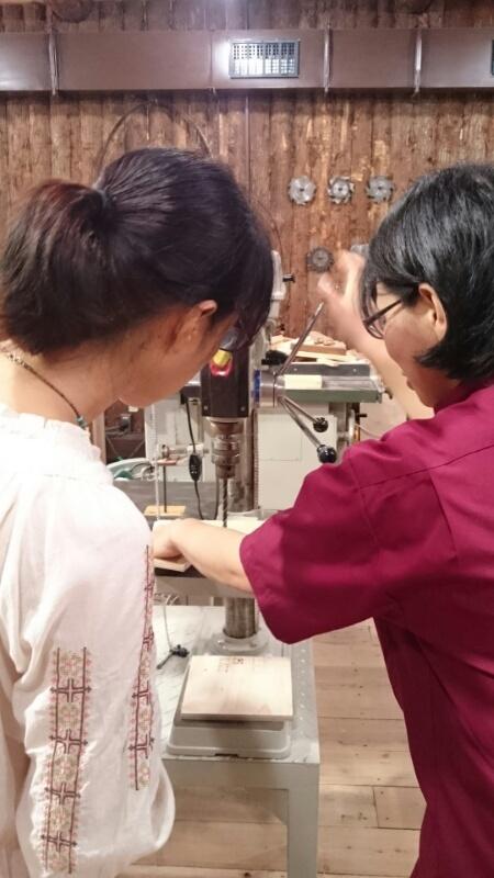 大阪で木工体験