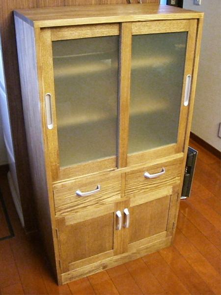 注文家具 食器棚