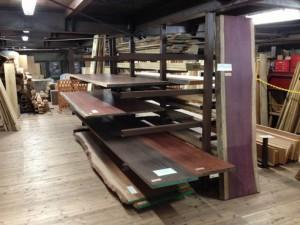 木材販売コーナー