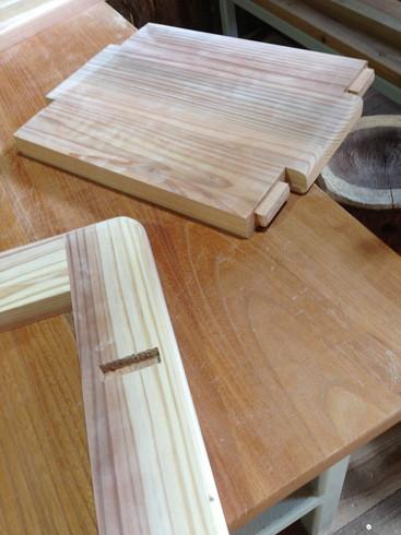 家具ホゾ作り