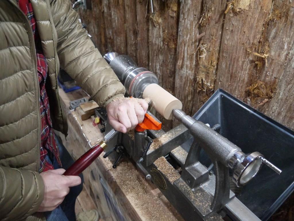 木工旋盤 角材