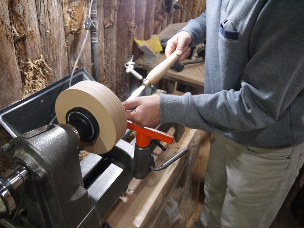 木工旋盤 お皿