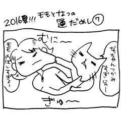 木工漫画 2016年夏!!! モモとなつの運だめし0725 黒檀 パスポートケース