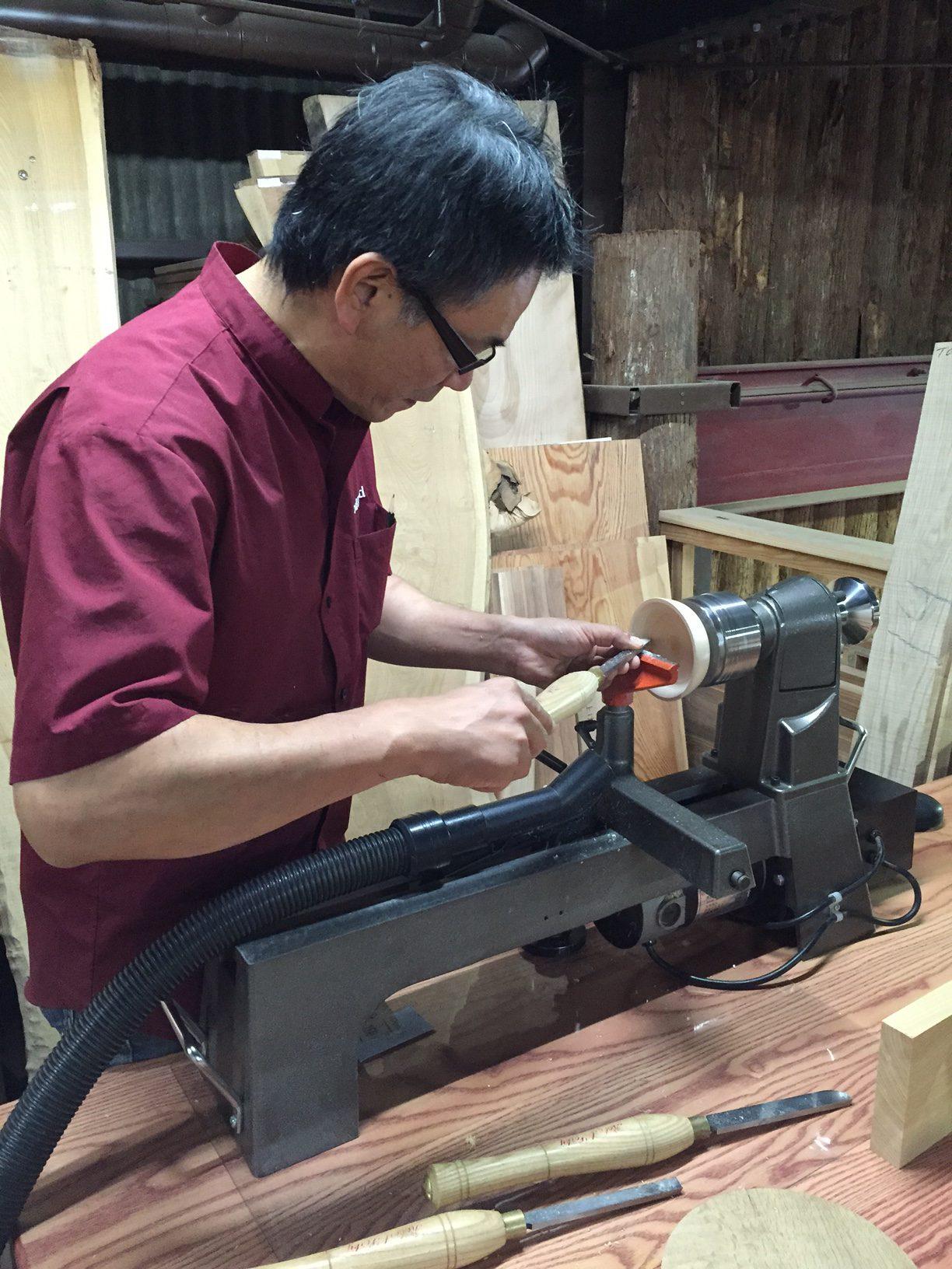 木工旋盤 体験