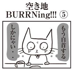 空き地 BURRNing !!!④